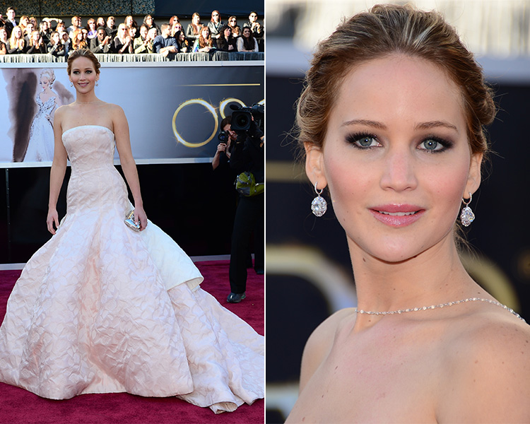Jennifer Lawrence, a vencedora do prêmio de melhor atriz