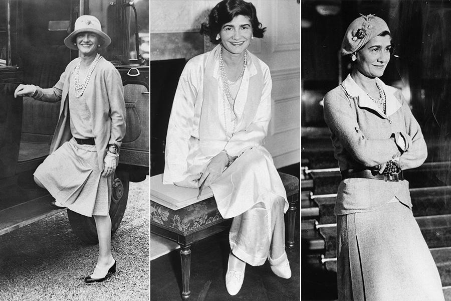 """Nos anos 20, o estilo de Coco Chanel revolucionou o guarda-roupa feminino ao se apropriar de itens clássicos do vestuário masculino. """"Ela roubou o paletó e a calça do namorado e foi a primeira a usar o boyfriend style"""", explica Heloisa Marra"""