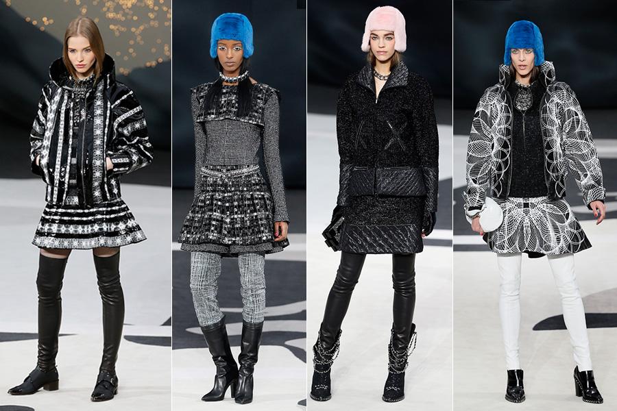 Chanel apresentou a coleção para o outono-inverno 2013 nesta terça-feira, 5, com desfile no Grand Palais