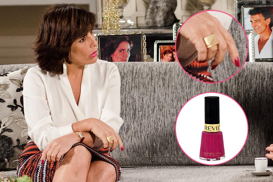 """O esmalte 917 Plum Seduction, da  Revlon (R$ 15), usado pela personagem Roberta em """"Guerra dos Sexos"""", foi o produto mais pedido na Central de Atendimento ao Telespectador da TV Globo"""