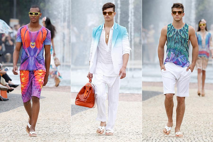 Desfile da grife Victor Dzenk no Minas Trend Primavera/Verão 2014
