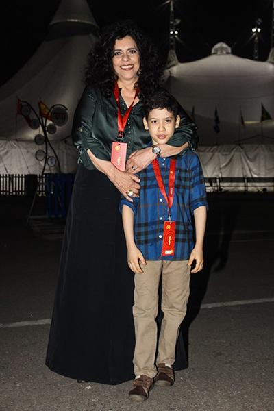 Gal Costa se tornou mãe quando adotou o filho Gabriel, em 2007.