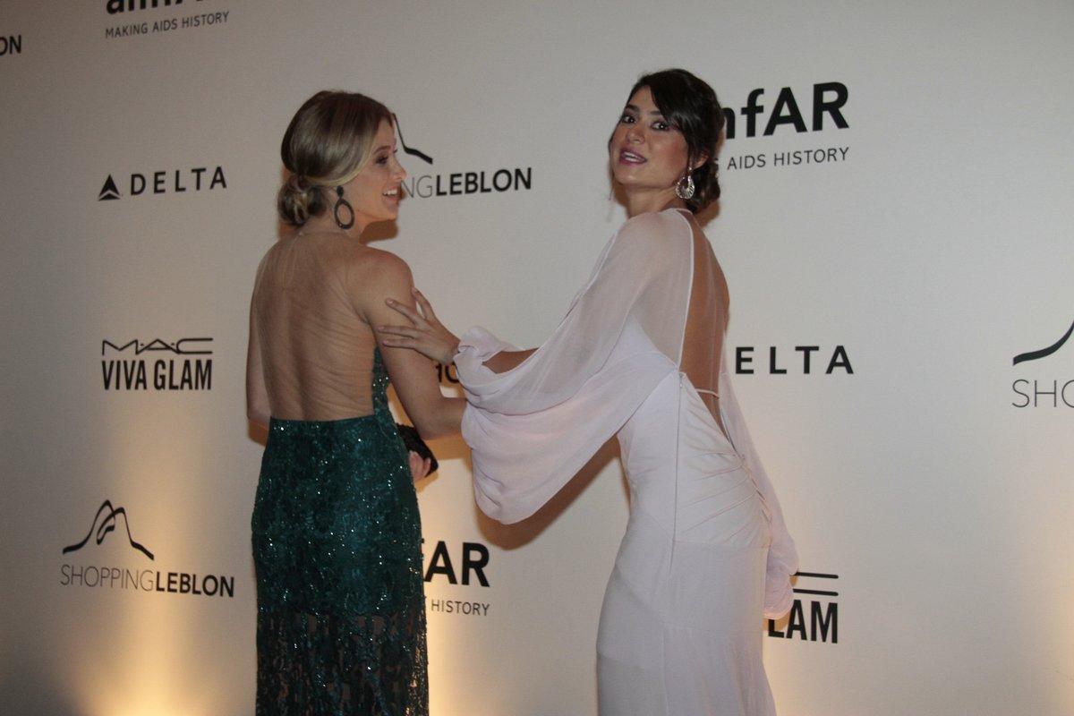 Thaila Ayala e Fiorella Matheis