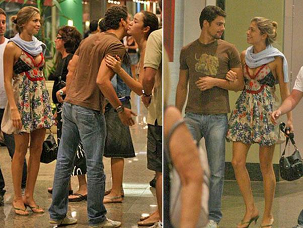 Cauã Reymond e Grazi Massafera começaram a namorar em 2006