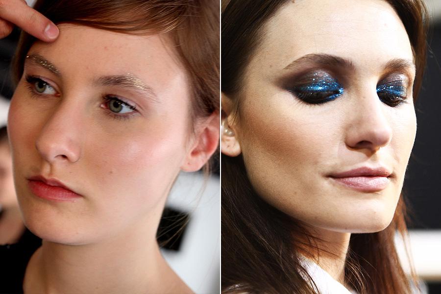 Os desfiles de Alexandre Herchcovitch e Juliana Jabour mostraram diferentes formas de se usar o glitter