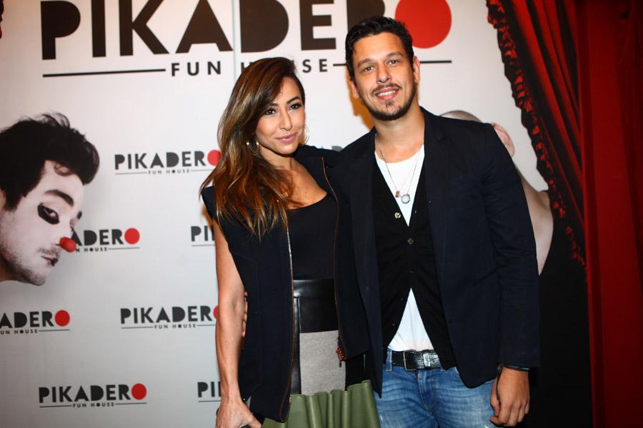 Sabrina Sato e João Vicente de Castro em evento em São Paulo