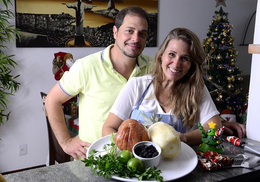 Andréia Sorvetão, Conrado e os ingredientes da salada de tender light