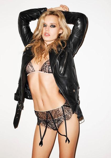 Georgia May Jagger é modelo e filha de Mick Jagger, líder dos Rolling Stones