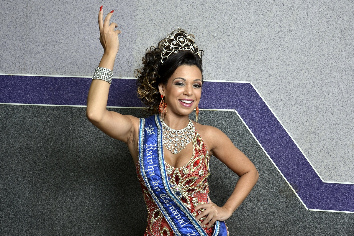 Letícia Guimarães, Rainha do Carnaval do Rio de Janeiro 2014