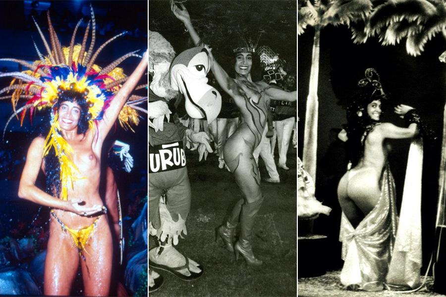 Enoli Lara, a primeira mulher a desfilar nua, foi responsável pela proibição da genitália desnuda no carnaval