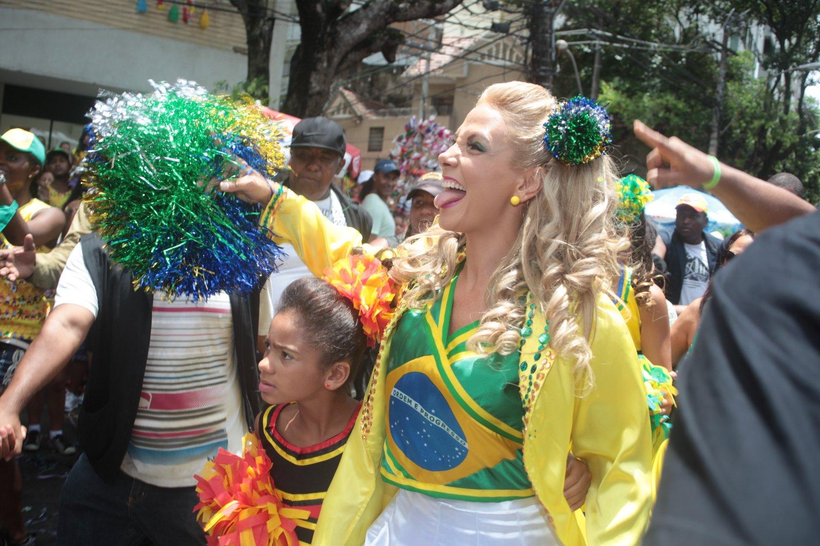 Trio de Carla Perez no carnaval de Salvador, Bahia