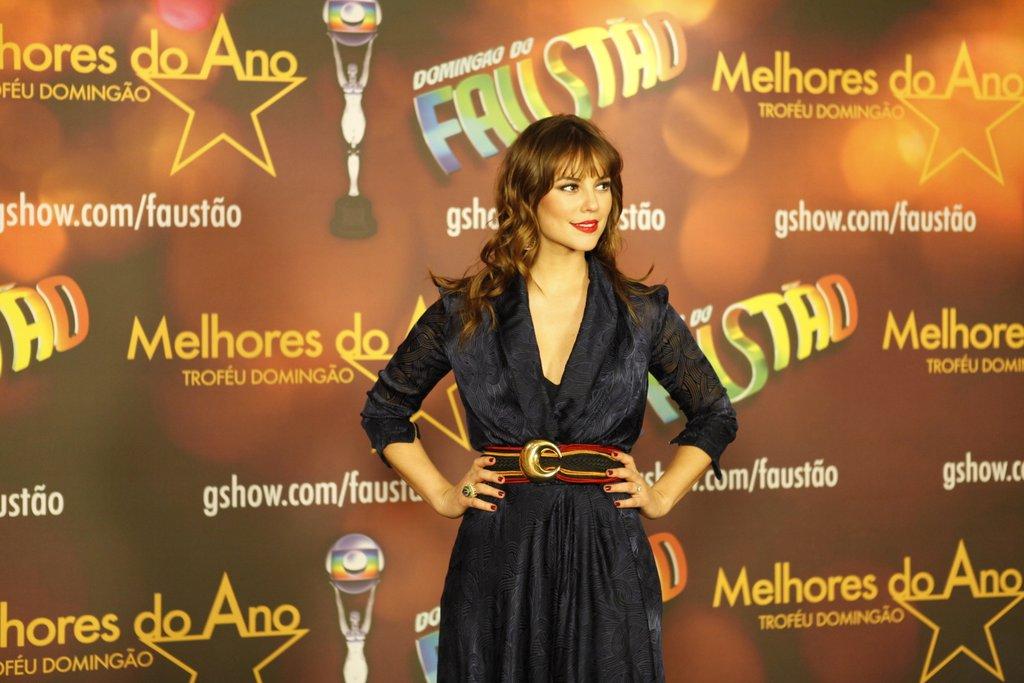 Paolla Oliveira no Prêmio Melhores do Ano