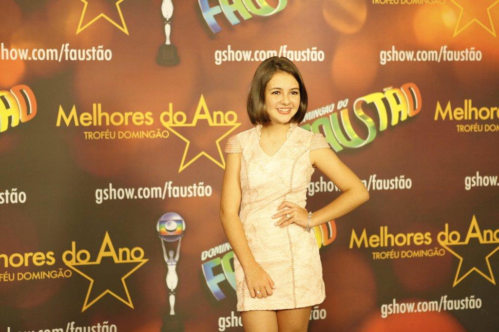 Klara Castanho no Prêmio Melhores do Ano