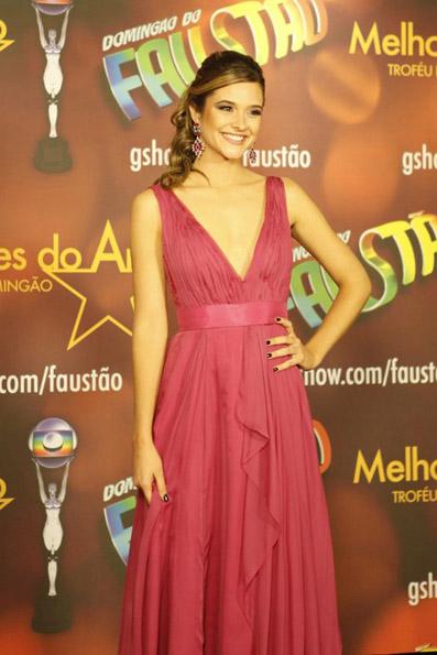 Juliana Paiva no Prêmio Melhores do Ano