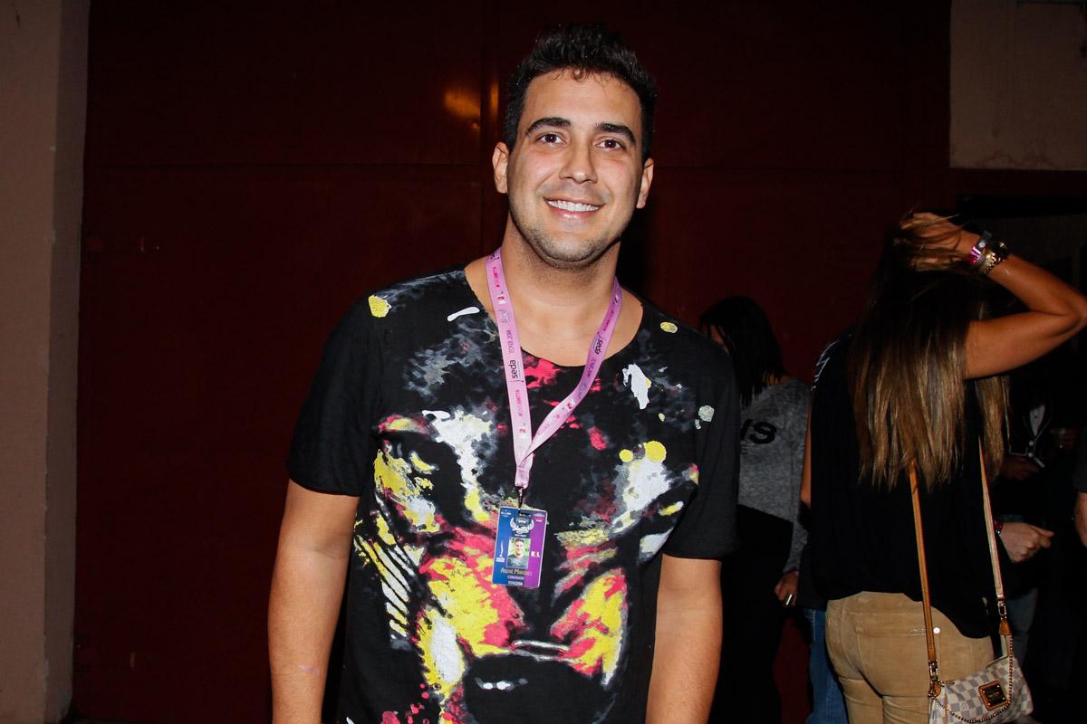 André Marques em show no Rio