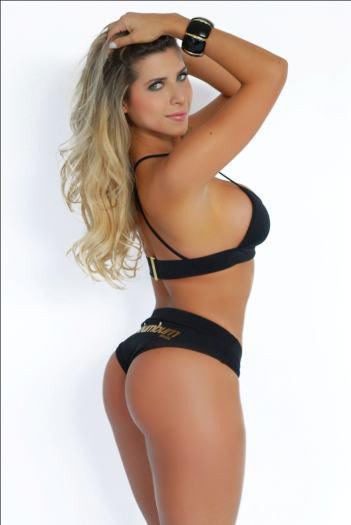 Ana Paula Minerato participou do Miss Bumbum em 2011 e ficou entre as 15 finalistas. Mas ficou famosa mesmo por ser musa da escola de samba Gaviões da Fiel