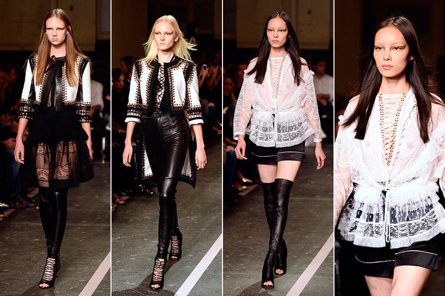 Desfile da grife Givenchy