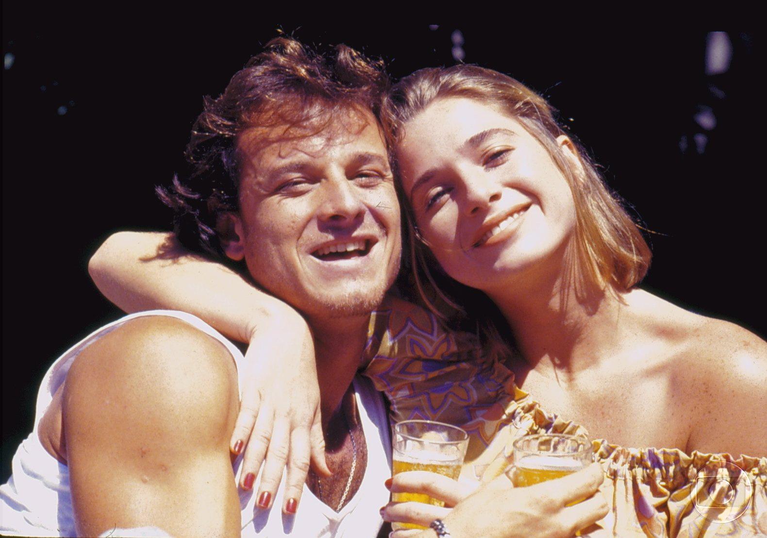 Marcello Novaes e Letícia Spiller ficaram eternizados na memória do público como Raí e Babalu. O romance foi para a vida real e eles tiveram um filho, Pedro, hoje com 17 anos