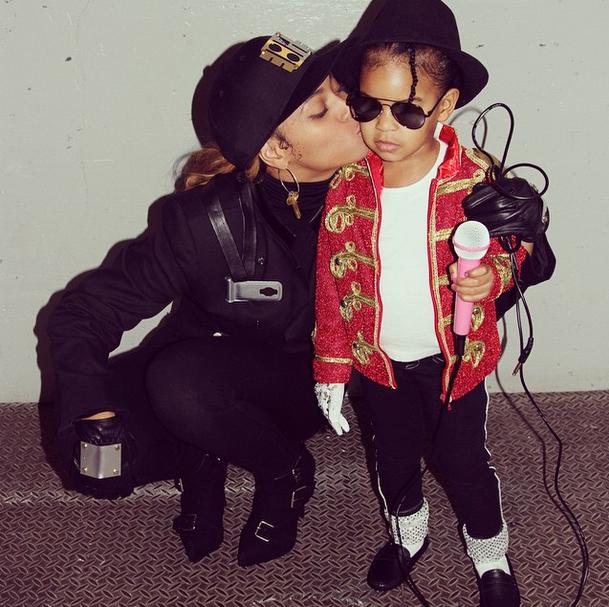 Beyoncé e Blue Ivy: Janet e Michael Jackson