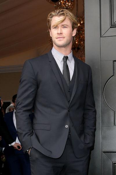 Chris Hemsworth em evento em Melbourne, Austrália, no dia 1º de novembro