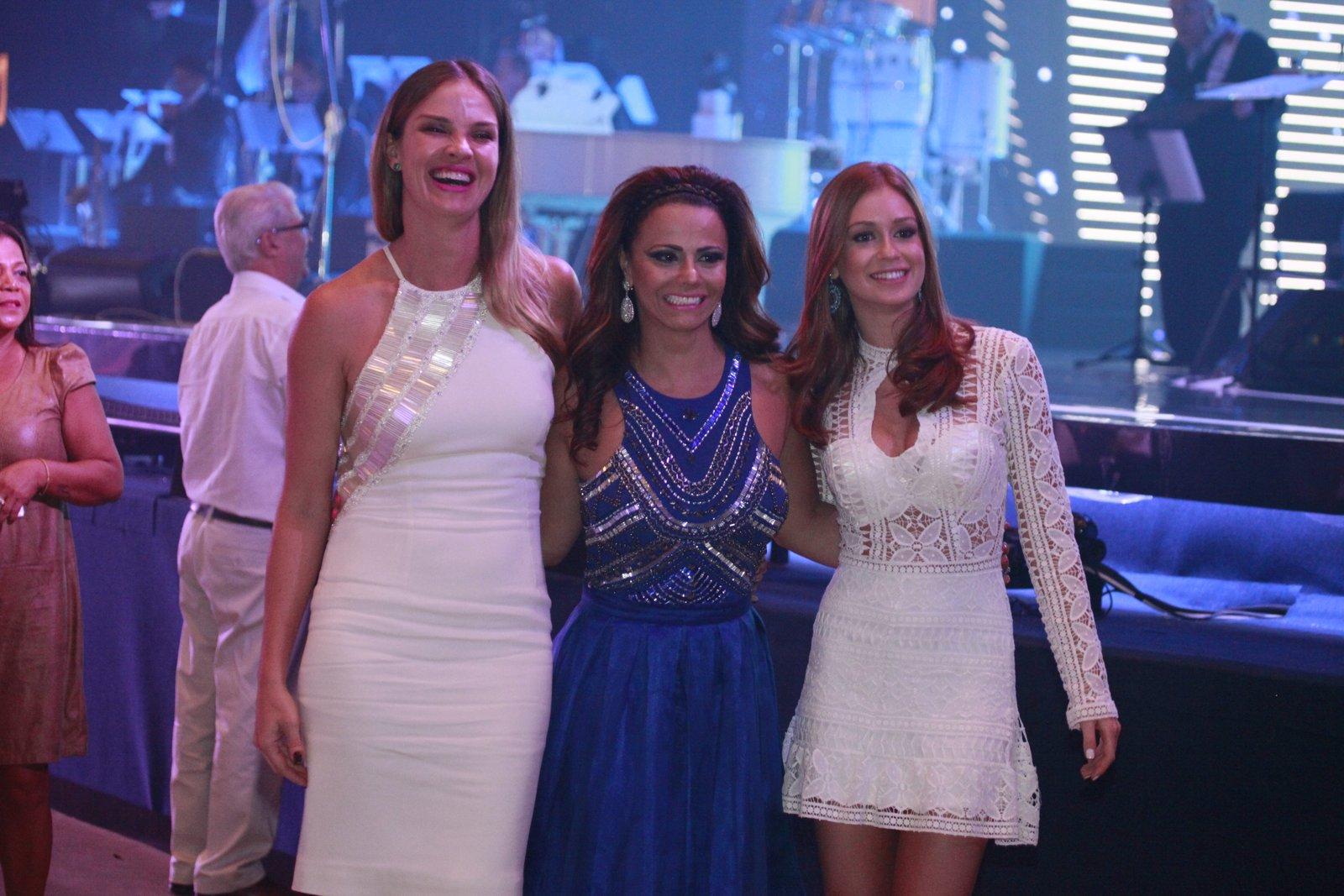 Letícia Birkheuer, Viviane Araújo e Marina Ruy Barbosa