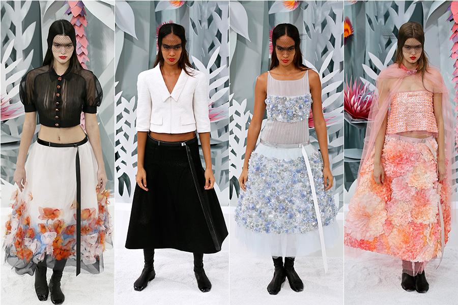Kendall está rapidamente se tornando uma das queridinhas de Karl Lagerfeld. Além da modelo, Joan Smalls e Lindsey Wixson também participaram do desfile da Chanel