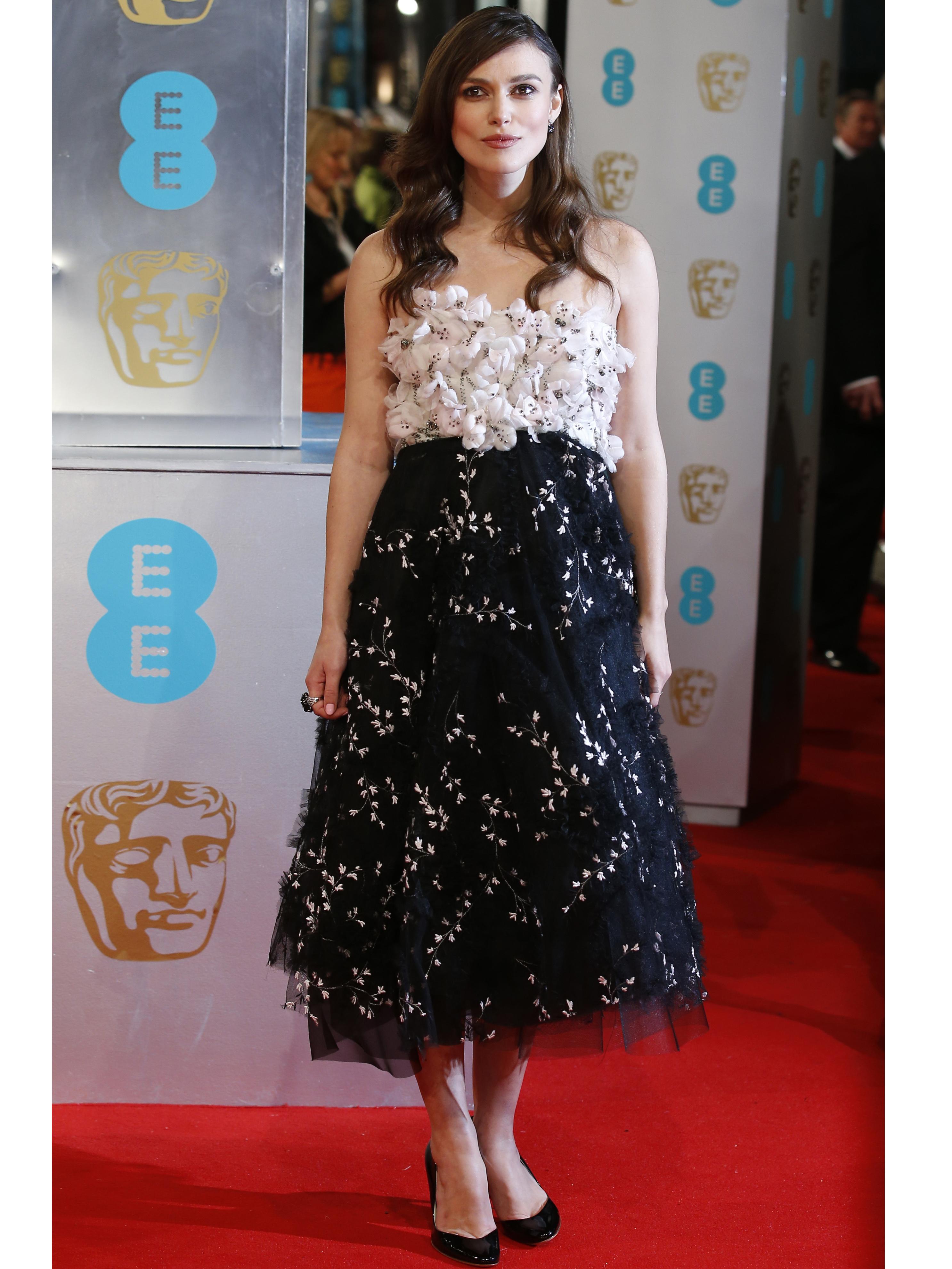 Keira Knightley no BAFTA