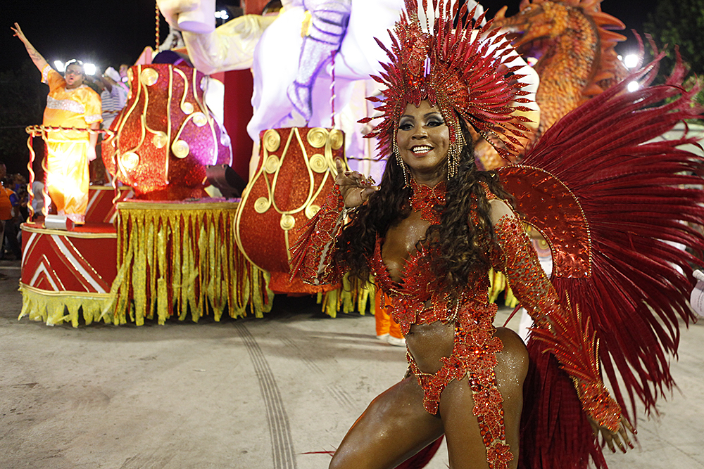 Tuane Rocha, musa da Alegria da Zona Sul