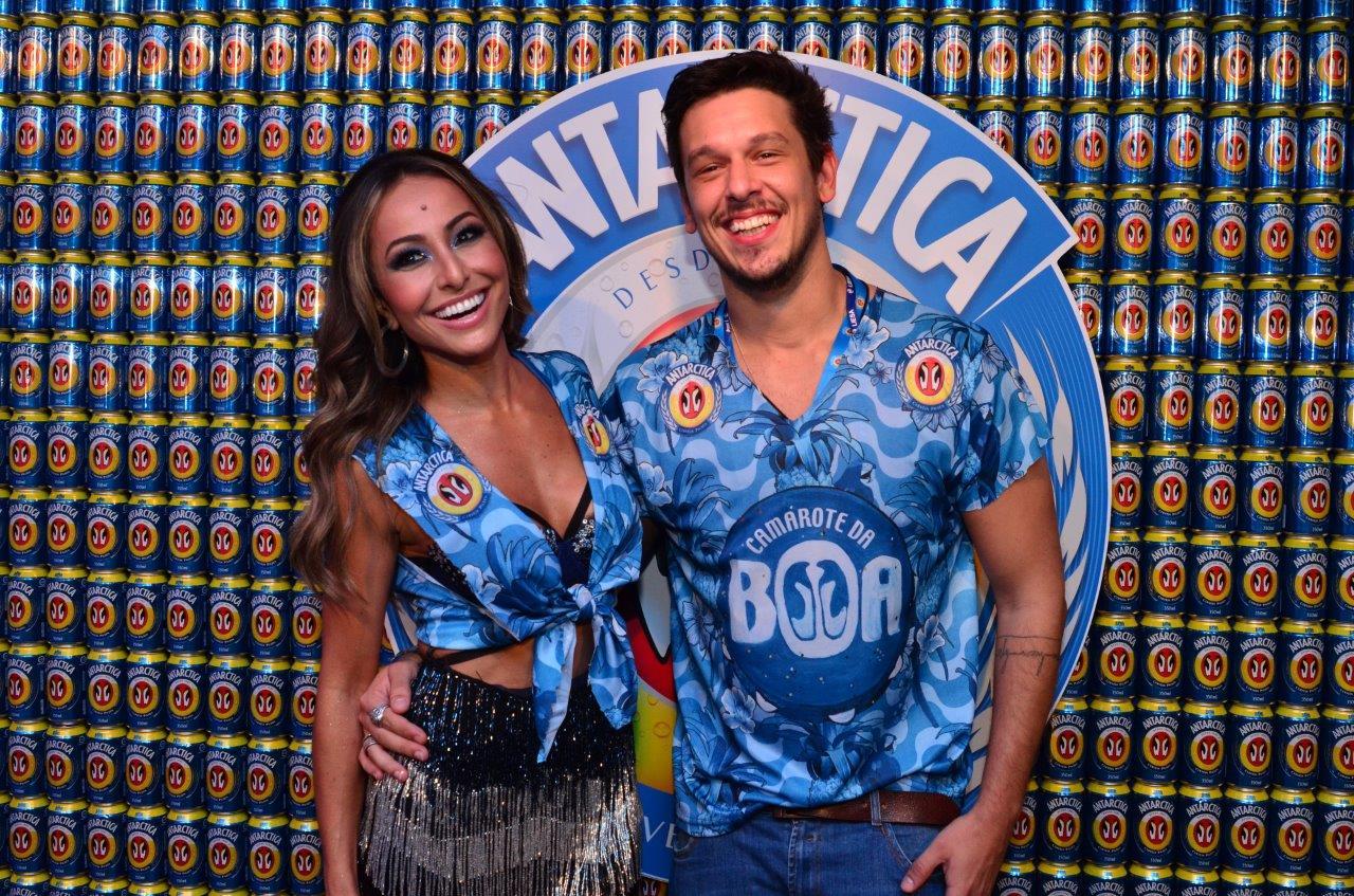 Sabrina Sato e o namorado João Vicente de Castro