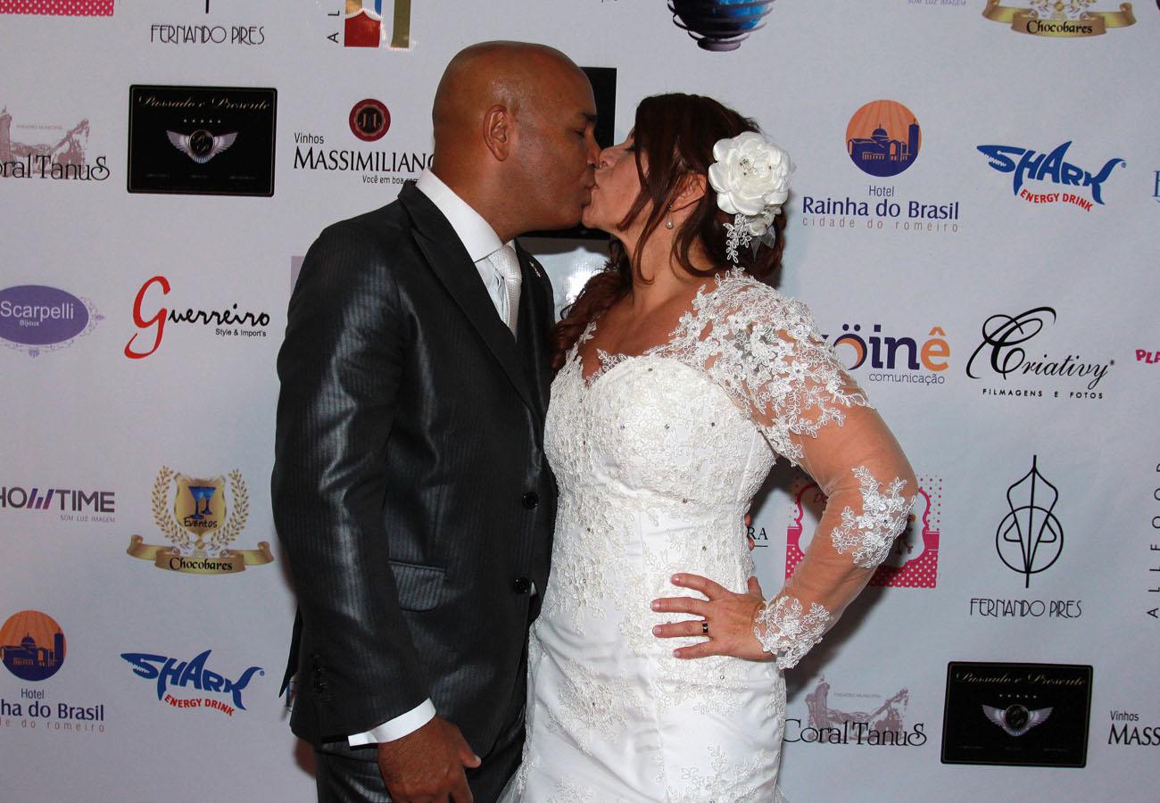 Rick e Geralda se casam em São Paulo