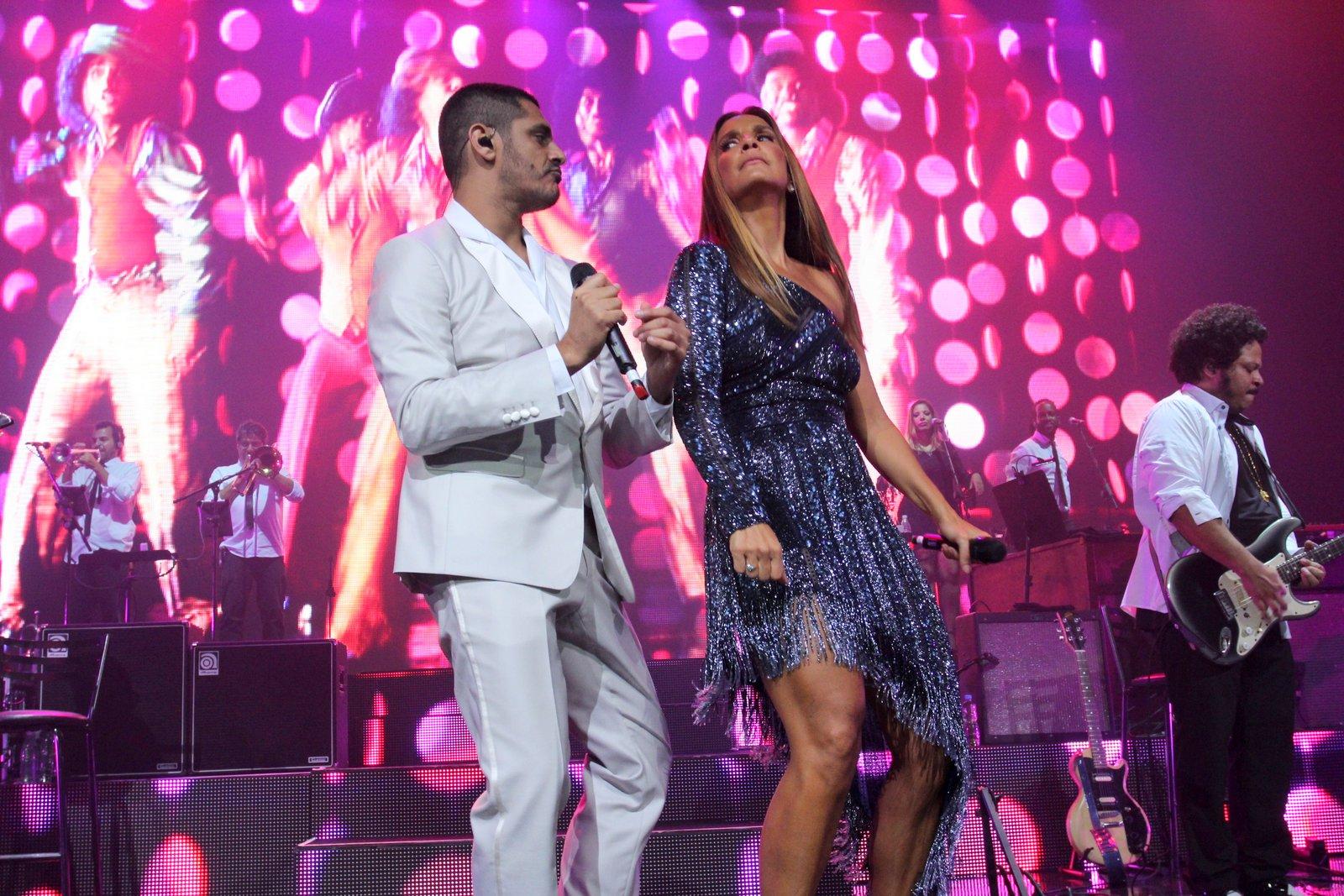 Criolo e Ivete Sangalo se apresentam no Rio