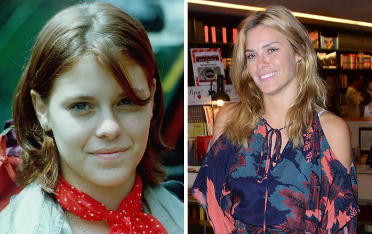 """Carolina Dieckmann participou da primeira temporada de """"Malhação"""", em 1995. Aos 16 anos, ela era a Juli que adorava uma intriga. Hoje, Carol tem 36 anos e é mãe de Davi e José"""
