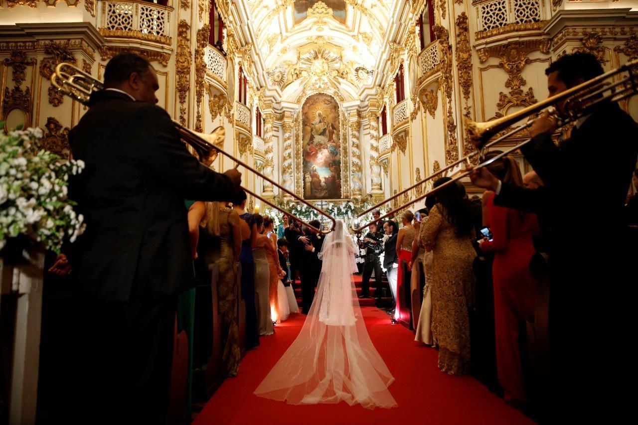 Detalhe do casamento de Preta Gil