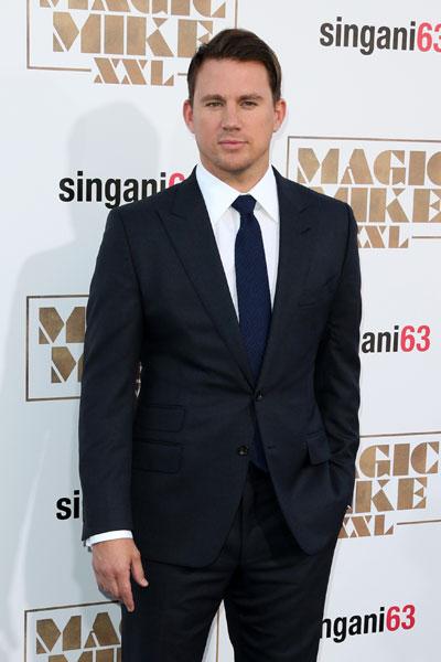 Channing Tatum em première de filme em Los Angeles, nos Estados Unidos