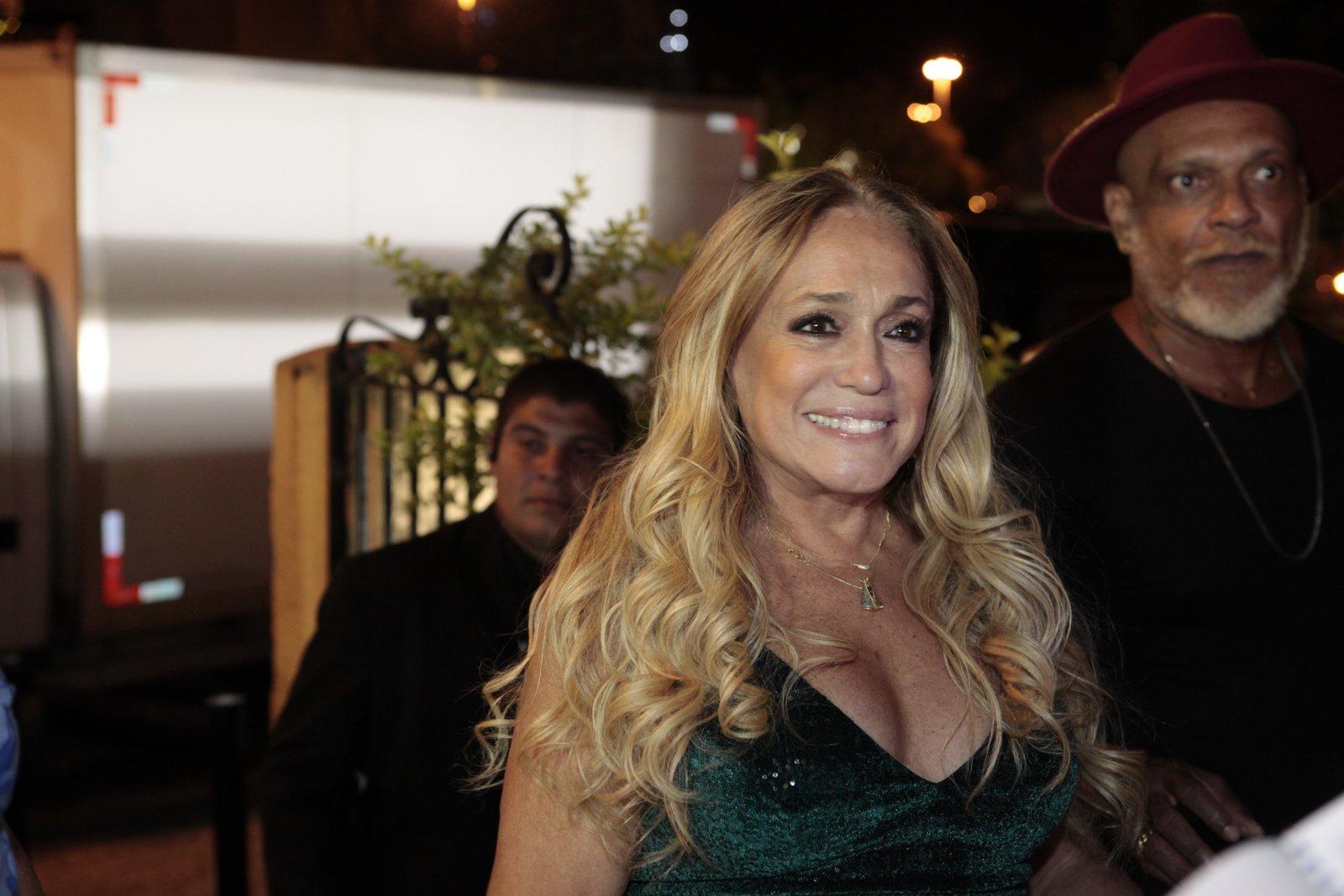 Susana Vieira em festa na Zona Sul do Rio