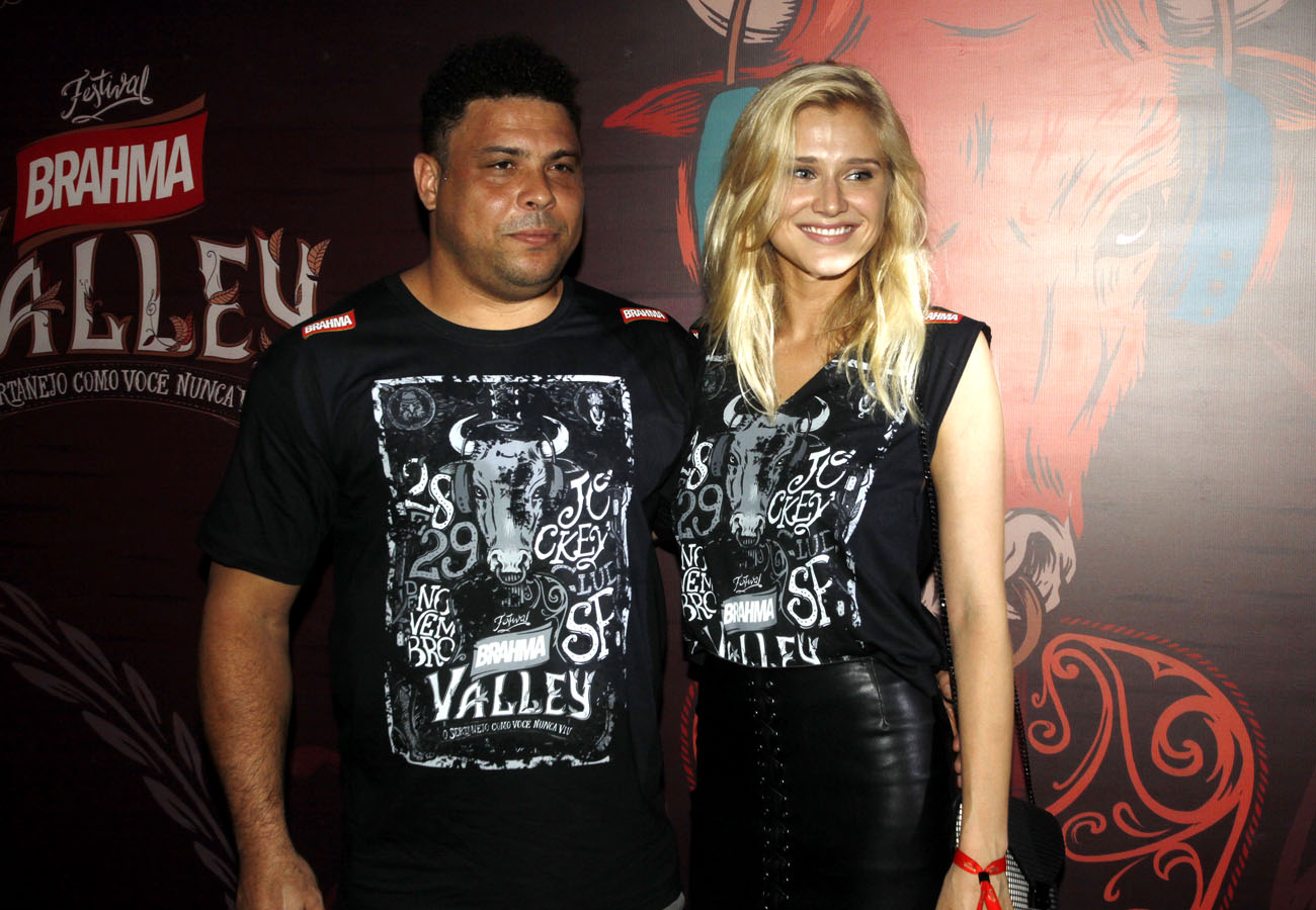 Ronaldo e Celina no Brahma Valley