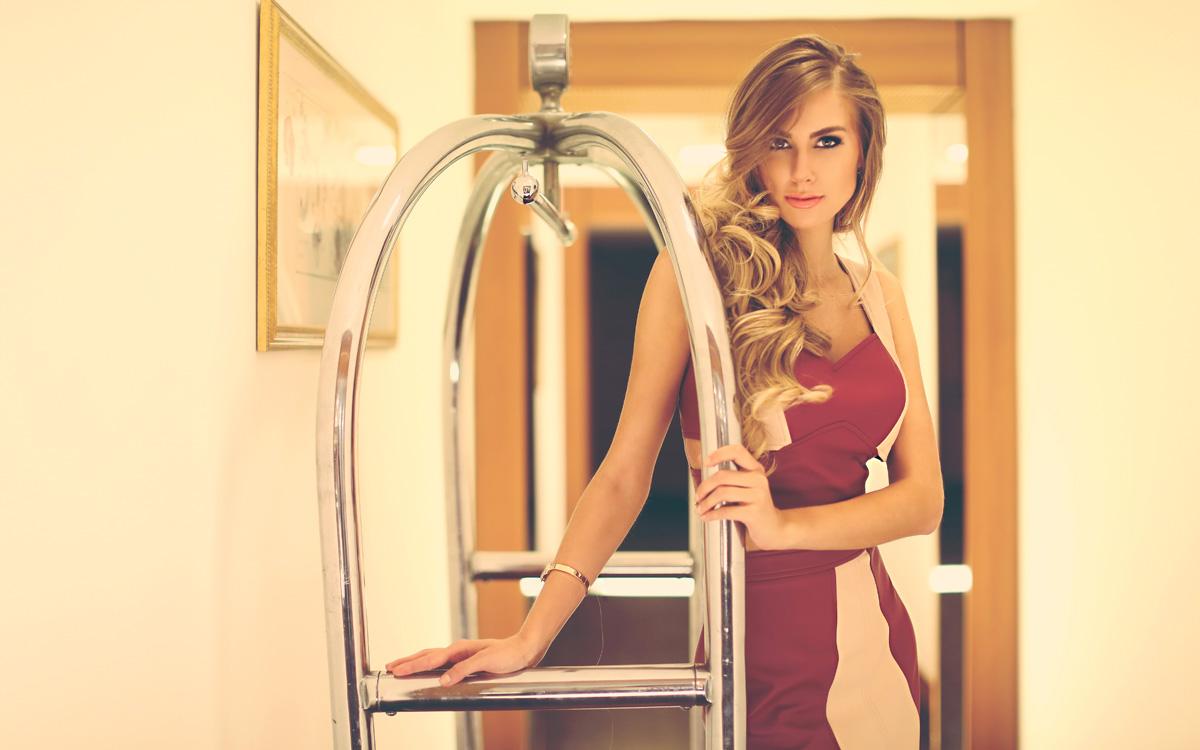 Marthina Brandt, de 23 anos, é a representante do Brasil no Miss Universo. (Foto: Iwi Onodera/EGO)