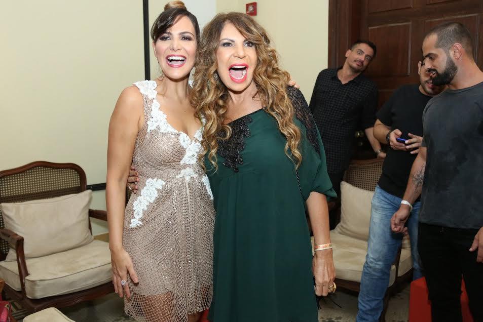 Carol Sampaio e Elba Ramalho