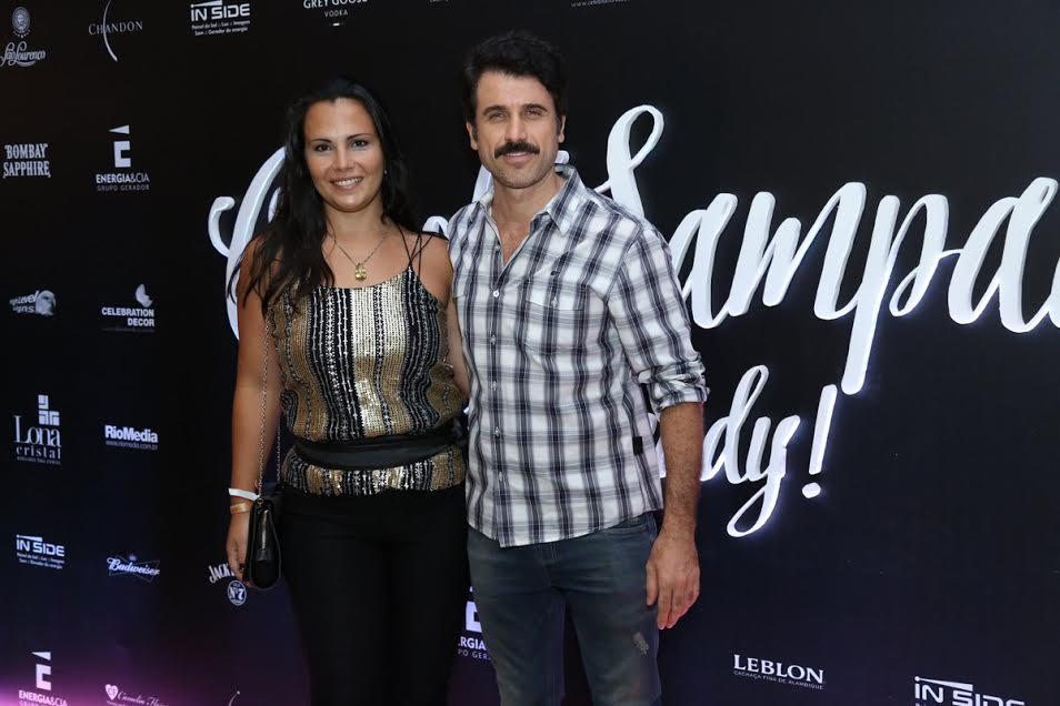 Eriberto Leão e Andréa Leão