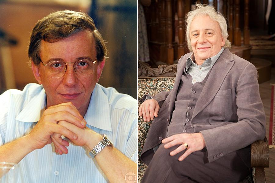 Antes e depois de Marco Nanini: o patriarca Lineu