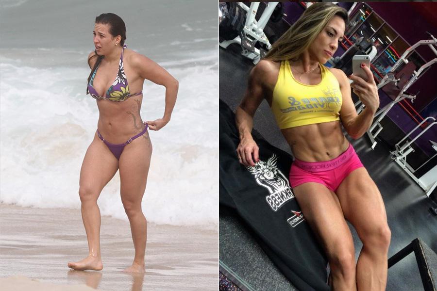 """Michelly Crisfepe saiu do """"BBB 11"""", virou atleta fitness e se prepara para competir internacionalmente na categoria Diva Fitness!"""