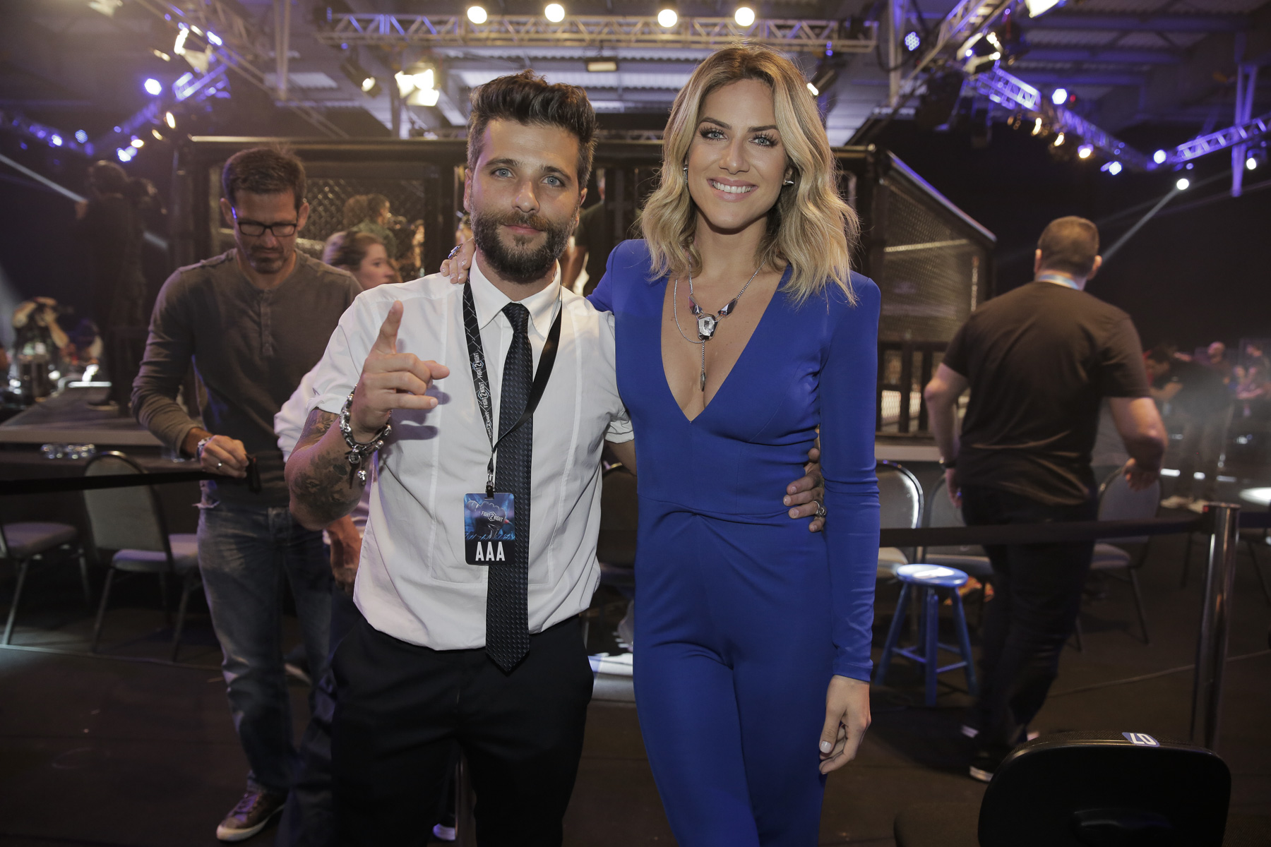 Bruno Gagliasso e Giovanna Ewbanck