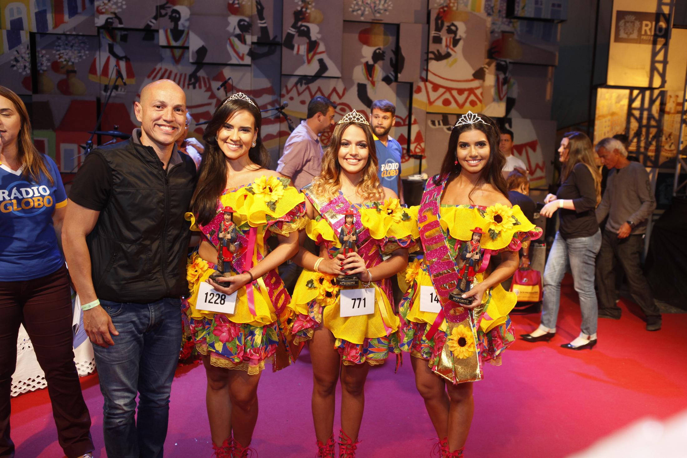 Fly, Kessia Alves, Maria Luisa e Renata Benevides no concurso Beleza Nordestina