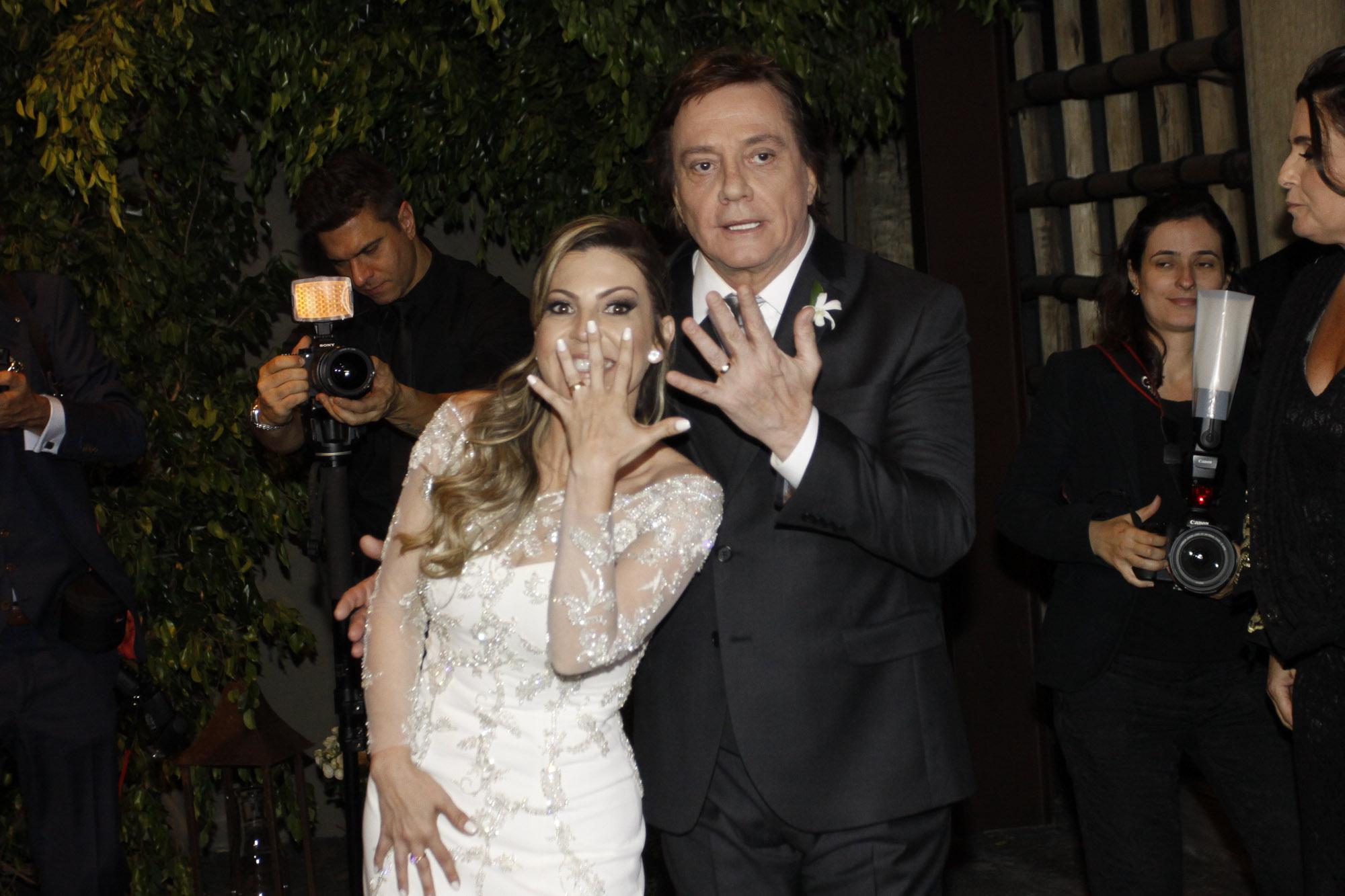 Maria Fernanda Pascucci e Fábio Jr.