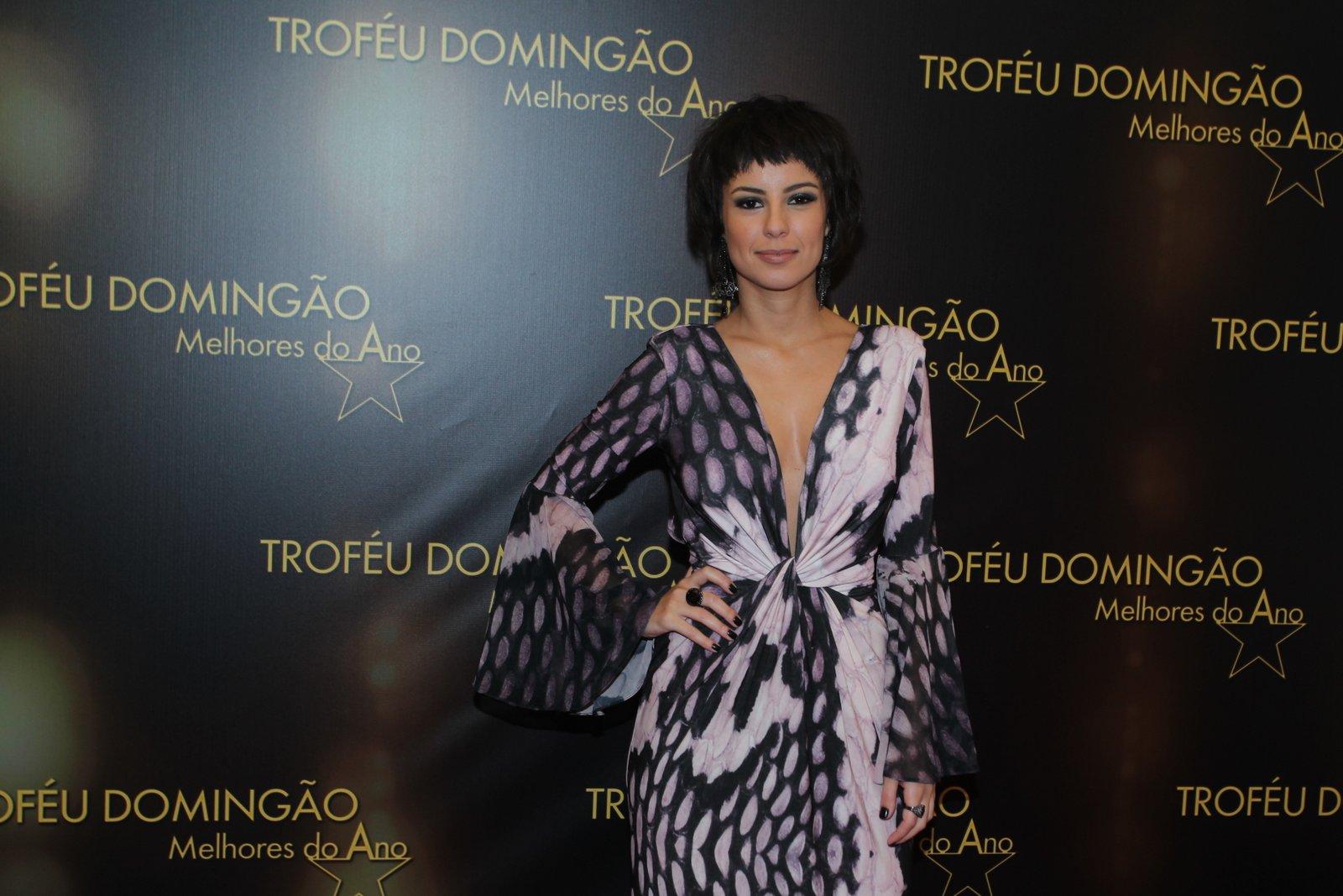 Andreia Horta - Premiação Os Melhores do Ano do Domingão do Faustão