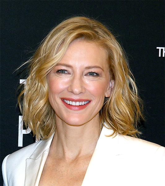 Cate Blanchett é uma atriz versátil e ninguém duvida disso...