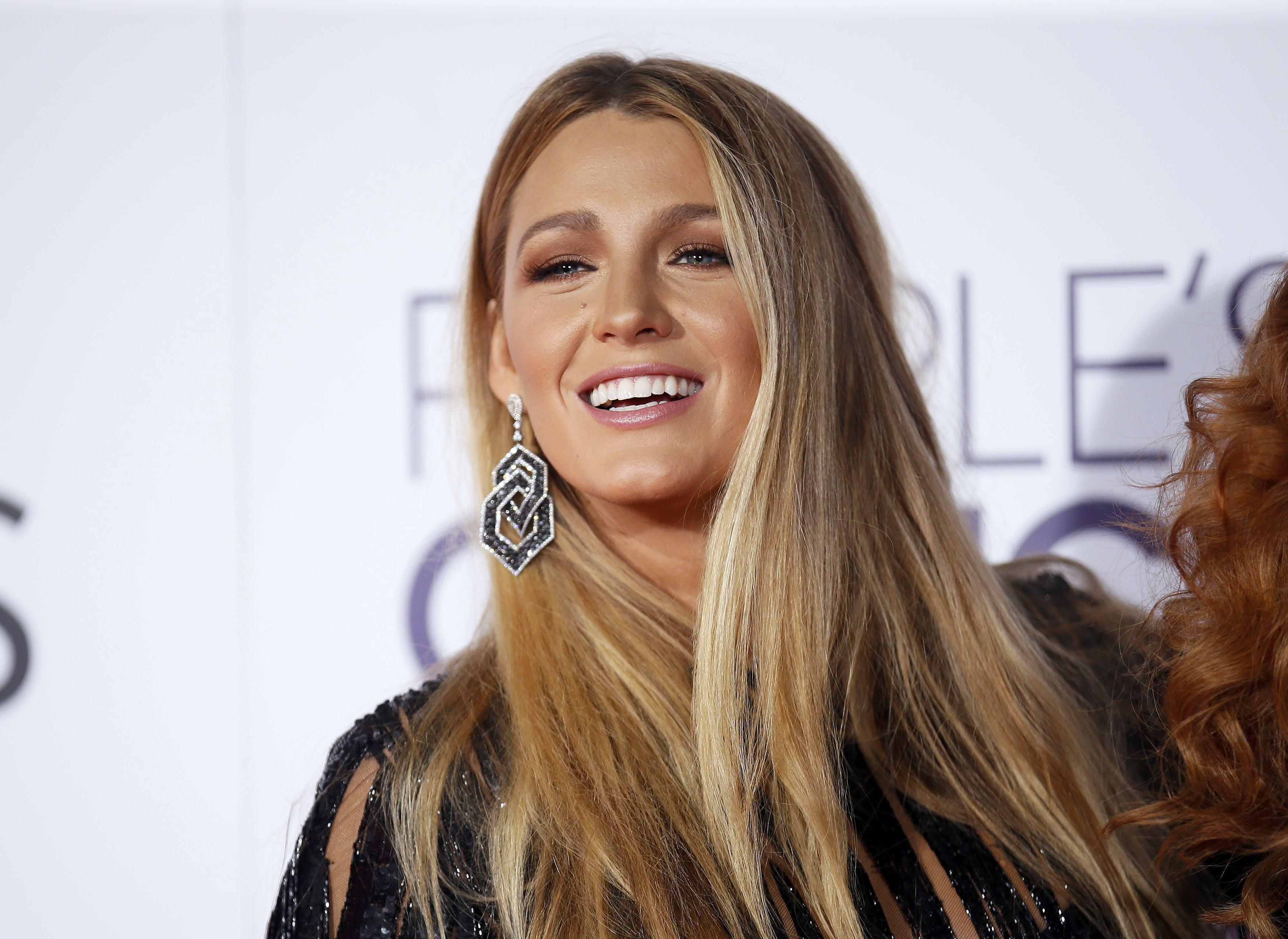 Blake Lively em prêmio em Los Angeles, nos Estados Unidos
