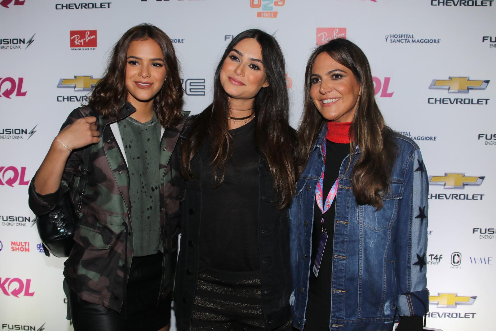 Bruna Marquezine, Thaila Ayala e Carol Sampaio