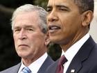 'Mandou bem', disse Bush a Obama  (AP)