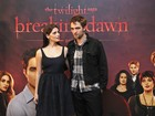 Robert Pattinson e Ashley Greene promovem 'Amanhecer - Parte 1'